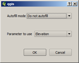 17.4.3 Filling the parameters table For most parameters, setting the value is trivial. Just type the value or select it from the list of available options, depending on the parameter type.