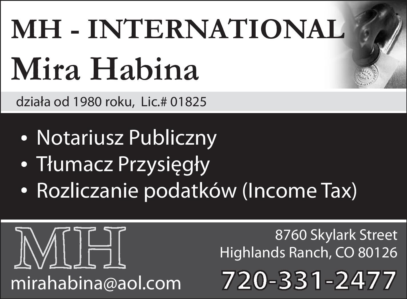 WE PROUDLY SUPPORT POLISH BUSINESSES St.