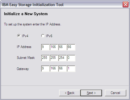 Initial Configuration Initial Setup - Initialization Tool Small Windows application on USB key Initialization Tool asks for: Cluster IP address Subnet Mask Network Gateway Tool creates a small text