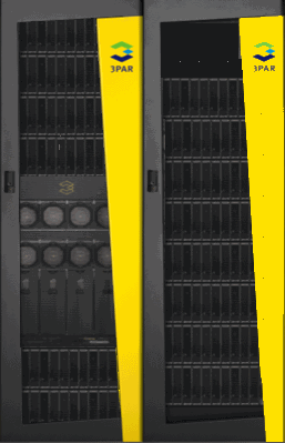HP 3PAR StoreServ 10400 Components 159 First rack with controllers and drives Expansion rack(s) with drives only Drive Chassis (4U) and Drive Magazines Up to 6 in first, 8 in each expansion rack