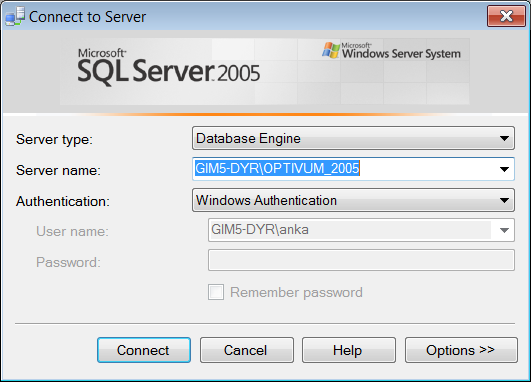 Instalacja i konfiguracja Microsoft SQL Server 2005 Express Edition 13/14 7. Zamknij program SQL Server Configuration Manager.