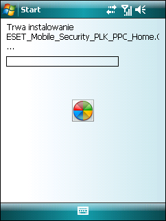 1. Instalacj a programu ESET Mobile Security 1.