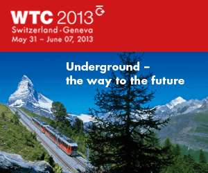 World Tunnel Congress 2013, Geneva May