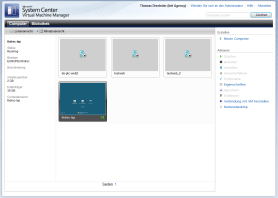 Virtual Macine Manager + System Center