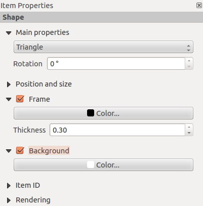 Rysunek 18.20: Scalebar Display, Fonts and colors Dialogs You can define how the scalebar will be displayed in its frame.