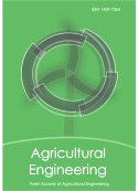 Scientific quarterly journal ISNN 1429-7264 Agricultural Engineering 2014: 2(150)