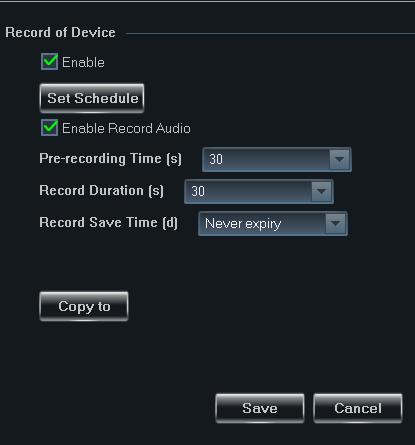 B-Viewer - manual, ver. 1.0 DEVICE MANAGEMENT 3.3.1.3. Stream parameters Parameters of sent and recorded streams can be defined by selecting the Image Quality.