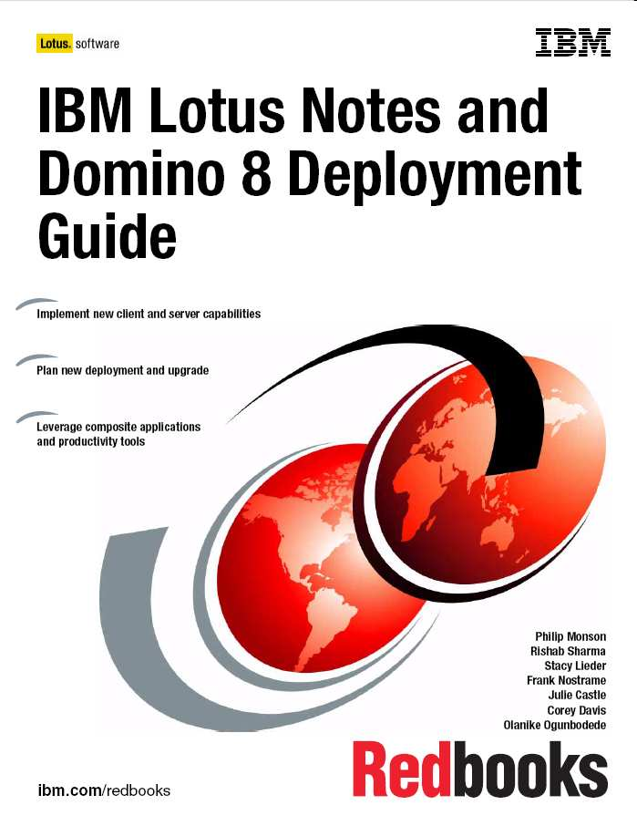 Redbook - przykład IBM Software Group Lotus