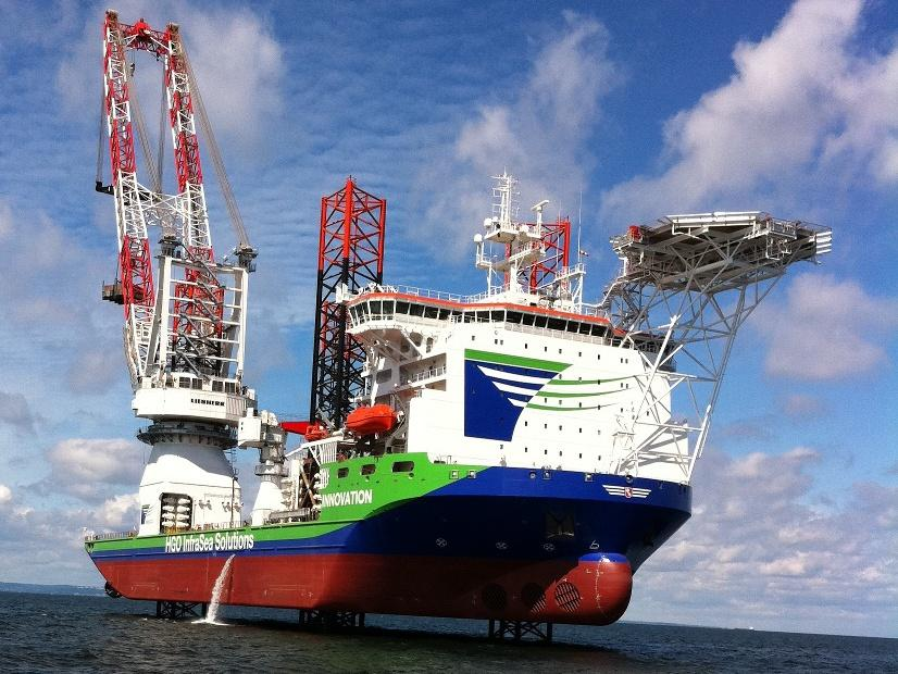Project: Heavy Lift Jack Up Vessel Innovation Place: Gdynia, Poland Crist Shipyard Built: 2011-2012 Client: HGO InfraSea Solutions Scope of works: