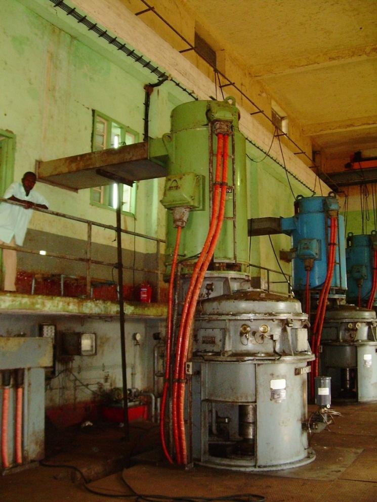 Project: Modernization of pump station - Blue Nile Place: Sennar, Sudan Period: 2008 Client: Sennar Sugar Factory Scope of works: