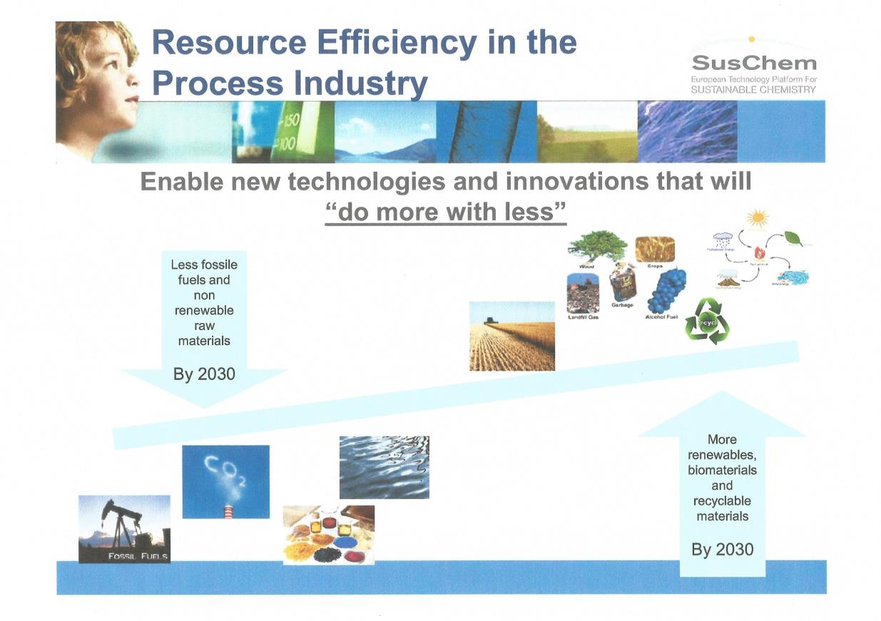 Dwie koncepcje efektywnego wykorzystania surowców w UE. Resource Efficiency should not be limited to using less, it should promote Using better!