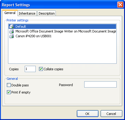"11 1.5 FastReport 4.6 User's Manual Report settings ( Ustawienia raportów) A window with report parameters is available from the ""Report Options..."" menu."