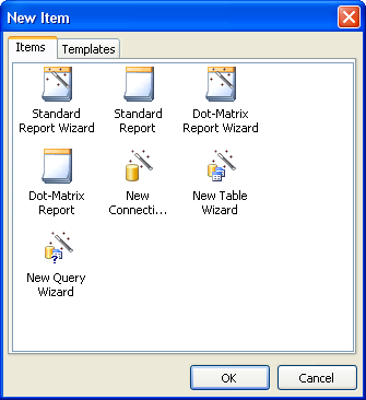"181 FastReport 4.6 User's Manual FastReport contains several wizards that simplify the report creation process. Wizards can be found in the ""File New..."" menu item. 13."
