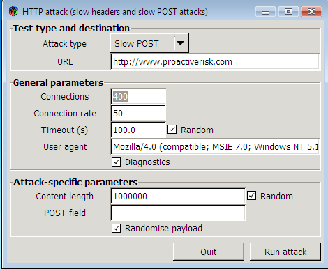 OWASP: HTTP Post Tool Open Web Application Security Project
