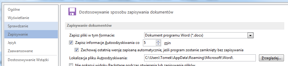 MS Office też robi