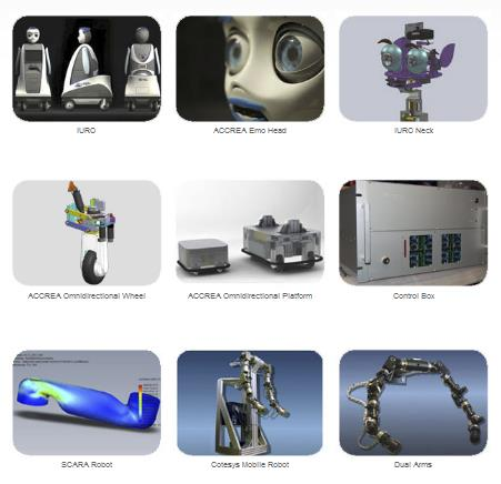 Custom robot design and manufacturing design and expertise of robotic systems realtime