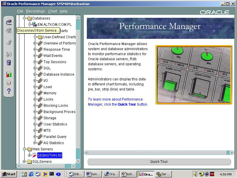 Enterprise Manager 9.