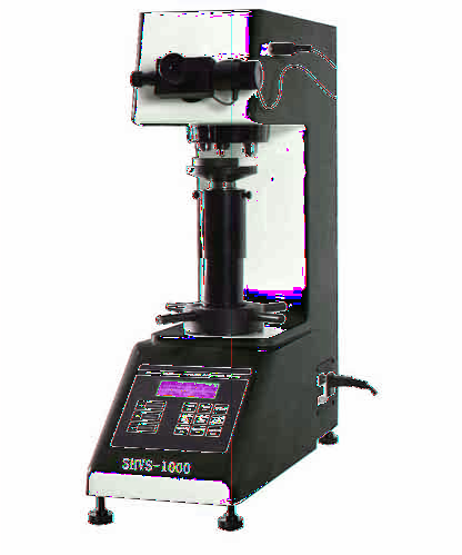 SHVS-5000 Vickers hardness tester Instrument Features: SHVS- series is a excellent Vickers hardness tester integrates with technology of optics, mechanics, electronics and computer.