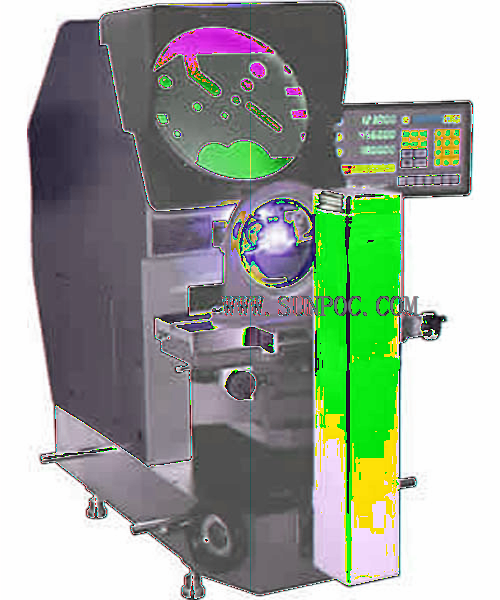 horizontal profile projector SPH-3020 HARDNESS TESTER Features: The product structures are strong in commonality, this instrument is beautiful in its outward appearances and convenient for