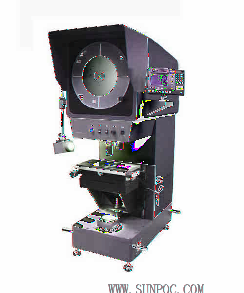 SP-600 Φ600 PROFILE PROJECTOR Application: This digital type high-precision projector is a highly efficient measuring instrument integrating light, machine and electricity.