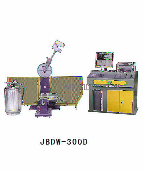 JBDW-300D Computer Control Low Temperature Automatic Impact Tester The impact tester is used for testing the impact resistance of the metal material at a low temperature and dynamic load state so as
