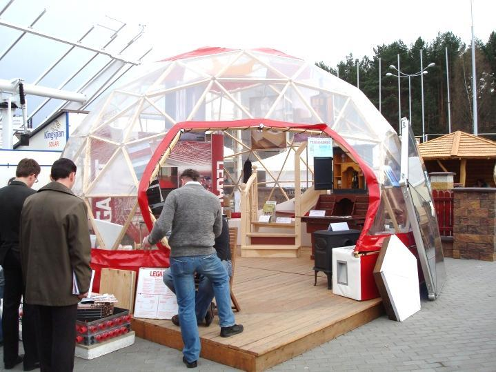 Manufacture & Building GEODESIC STRUCTURES