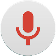 4 Tap to listen to the recording. NOTE: Tap recordings. to access your recordings. You can listen to your saved Voice Search Use this application to search webpages using voice.