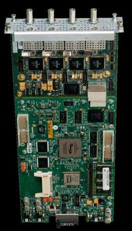 Key Features Dense Satellite Reception/ Decryption Card (DRD-S2) Satellite Reception Card with Common Interface 4 independent receivers