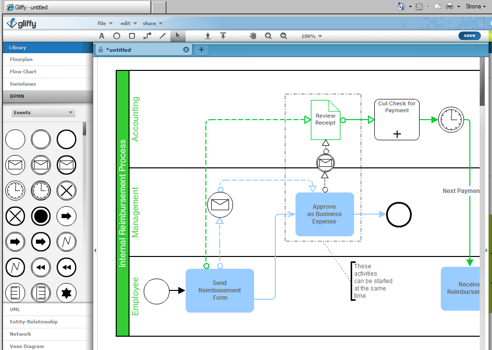 Other modeling tools Program BizAgi Process Modeler Business Process Visual Architect BPMN 2.