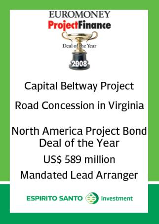 Sektor Drogowy 20 Canada Portugal Poland Gateway Route 1 Financing the design and construction of the Route 1 highway in New Brunswick. C$ 445.
