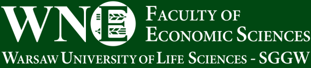 CATION Ph.D. in Economics, 2004, Department of Economics and Organization of Enterprises, Warsaw University of Life Sci
