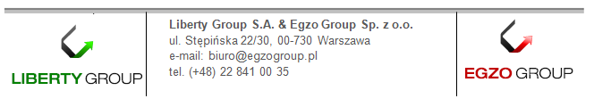 Zapraszamy do kontaktu. Egzo Group Sp. z o.o. ul.