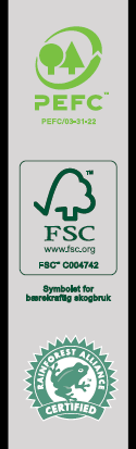 PEFC, FSC i Rainforest Alliance