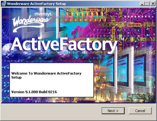 2. Instalacja ActiveFactory.