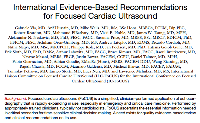 Journal of the American Society of Echocardiography