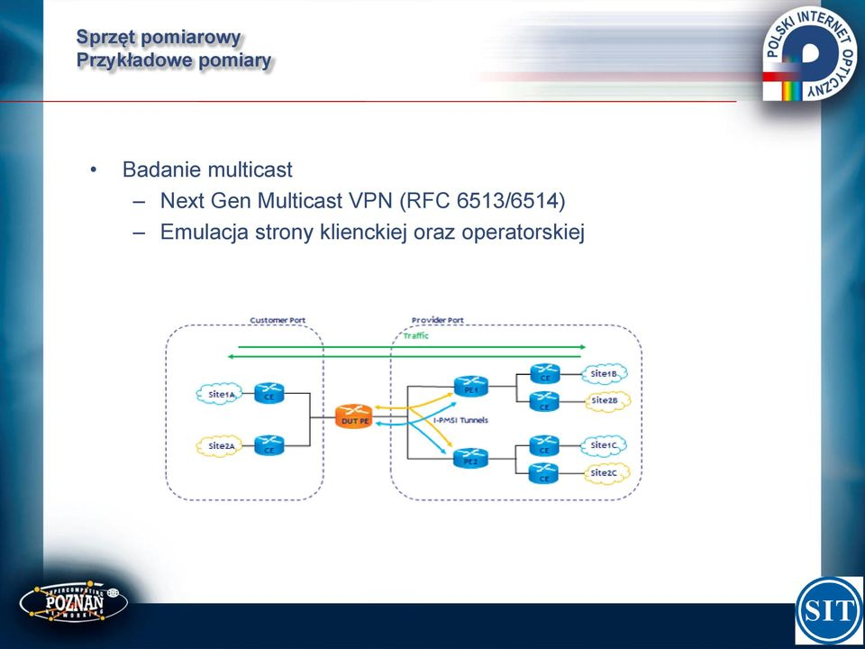Multicast VPN (RFC 6513/6514)