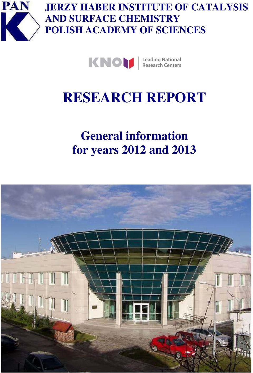 ACADEMY OF SCIENCES RESEARCH REPORT