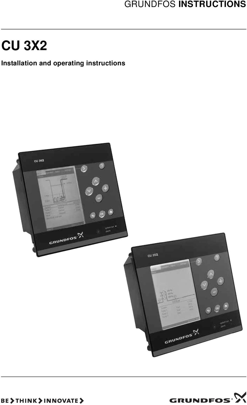 Grundfos Cu 211 Manual Today Guide Trends Sample Wiring Instructions 3x2 Installation And Operating Mq