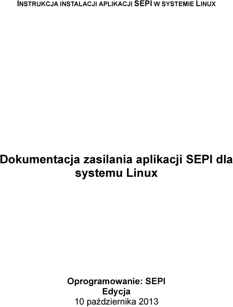 systemu Linux