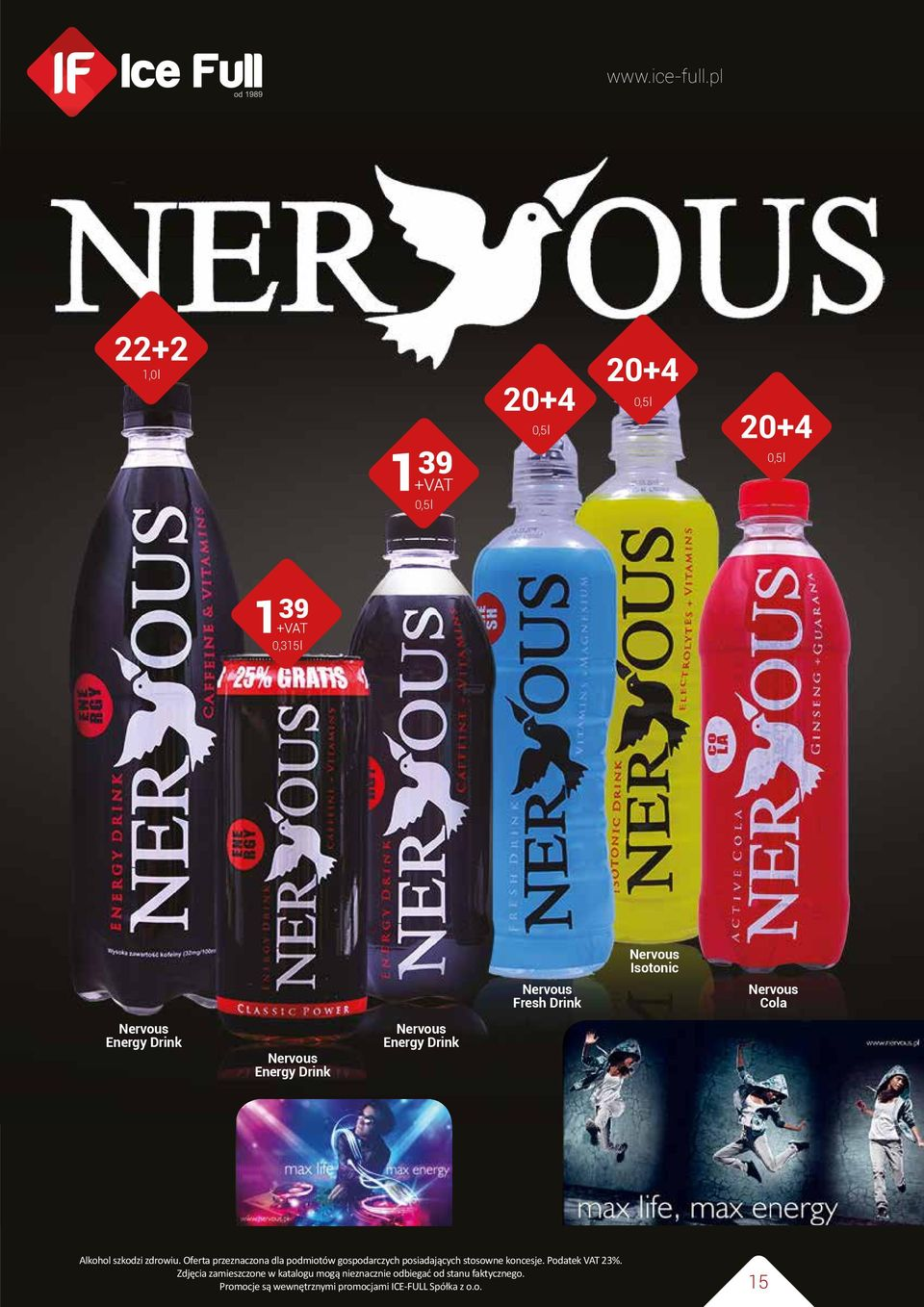 Energy Drink Nervous Fresh