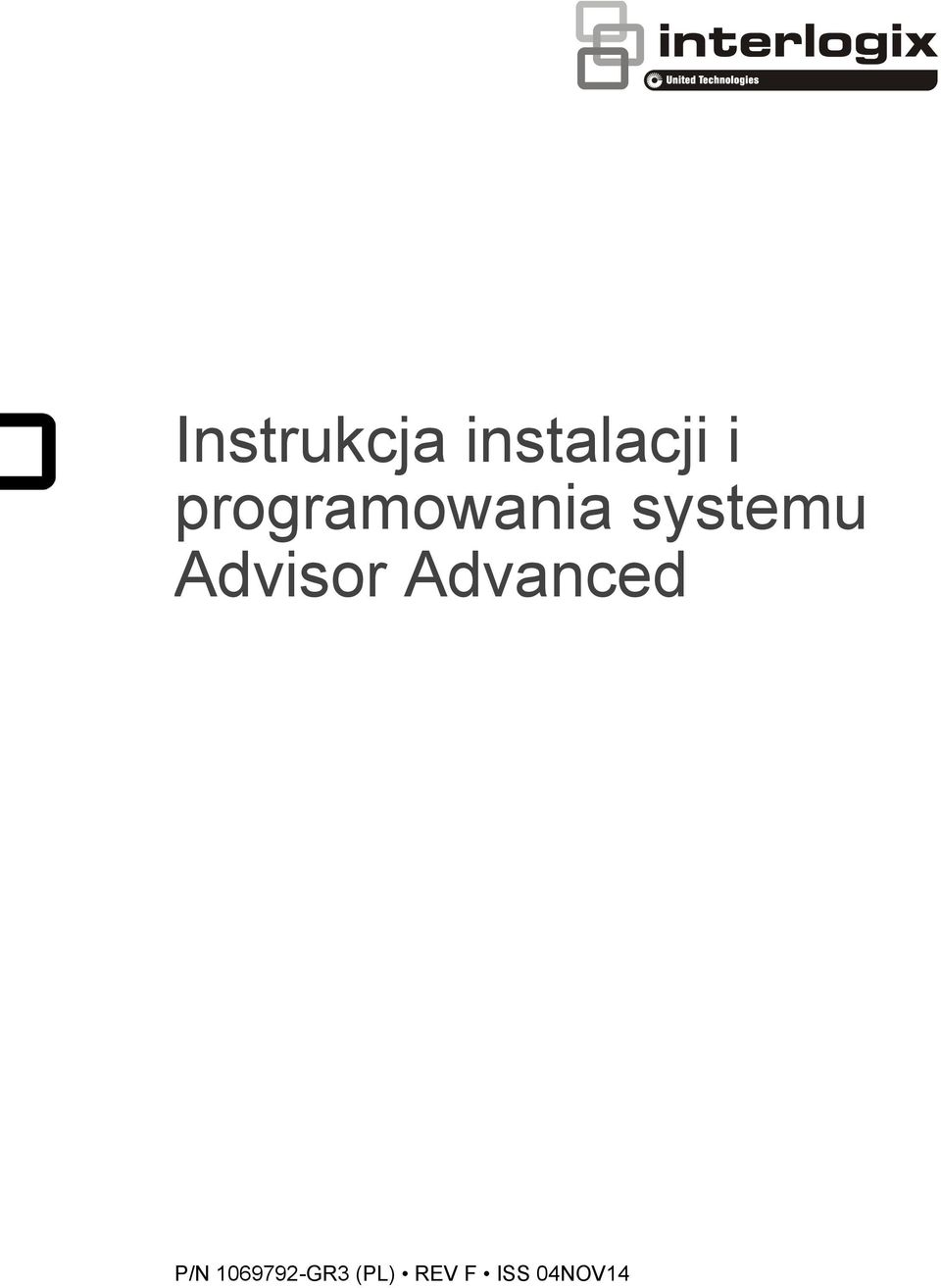 Advisor Advanced P/N