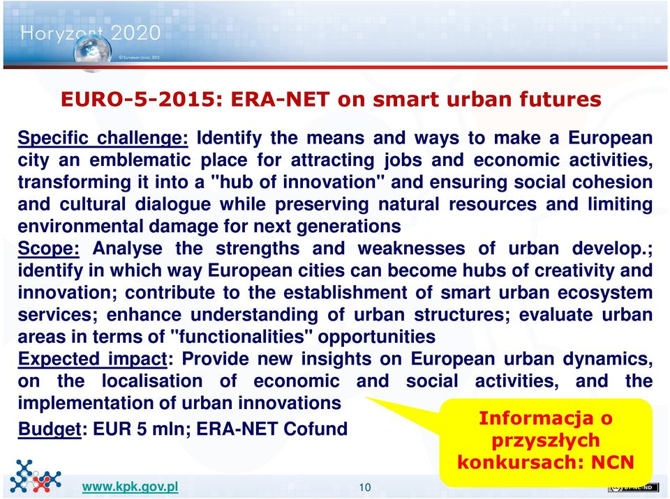 and weaknesses of urban develop.