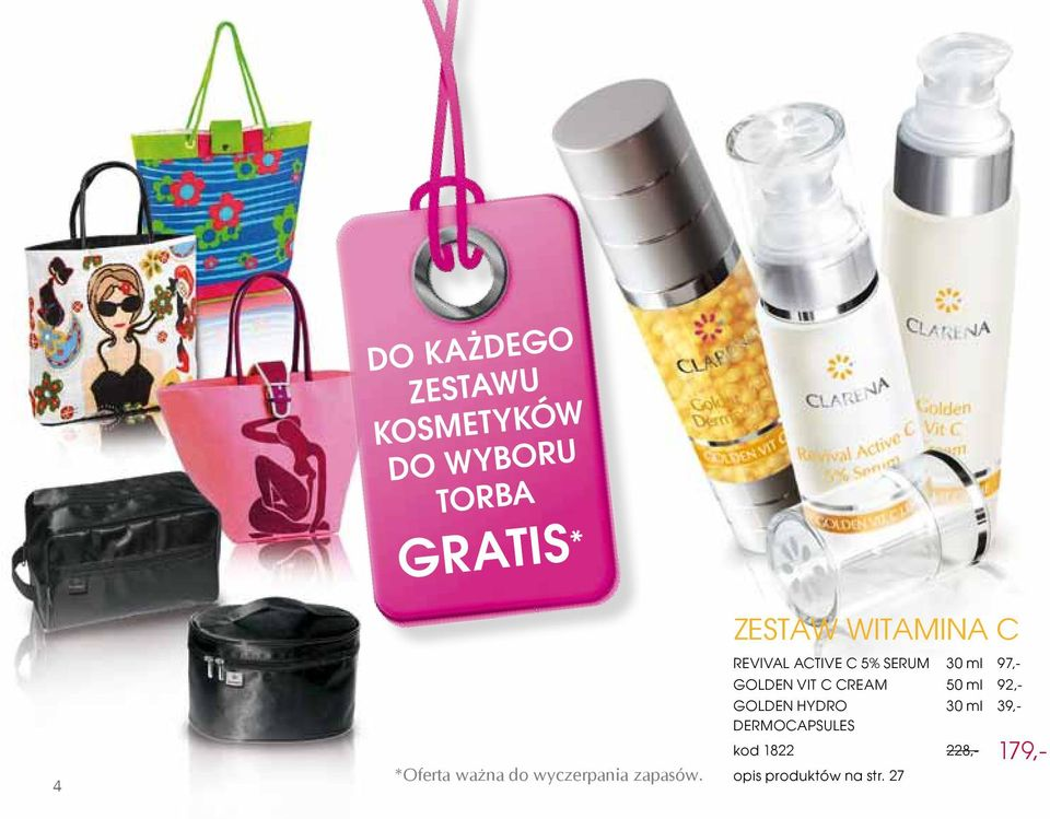zestaw WITAMINA c Revival ActivE C 5% Serum 30 ml 97,- GoldEN Vit