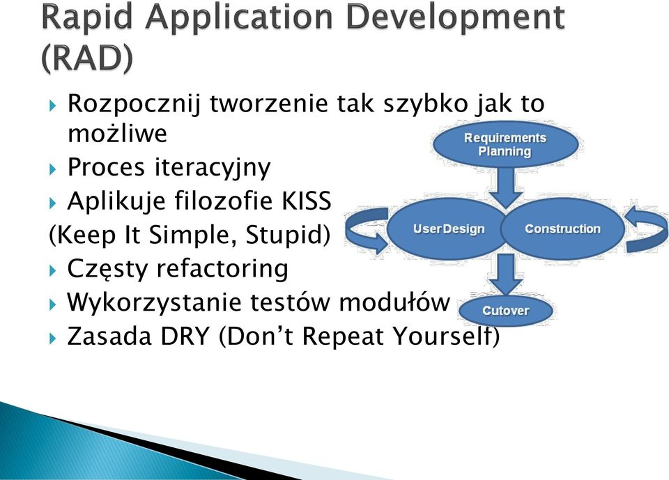 It Simple, Stupid) Częsty refactoring
