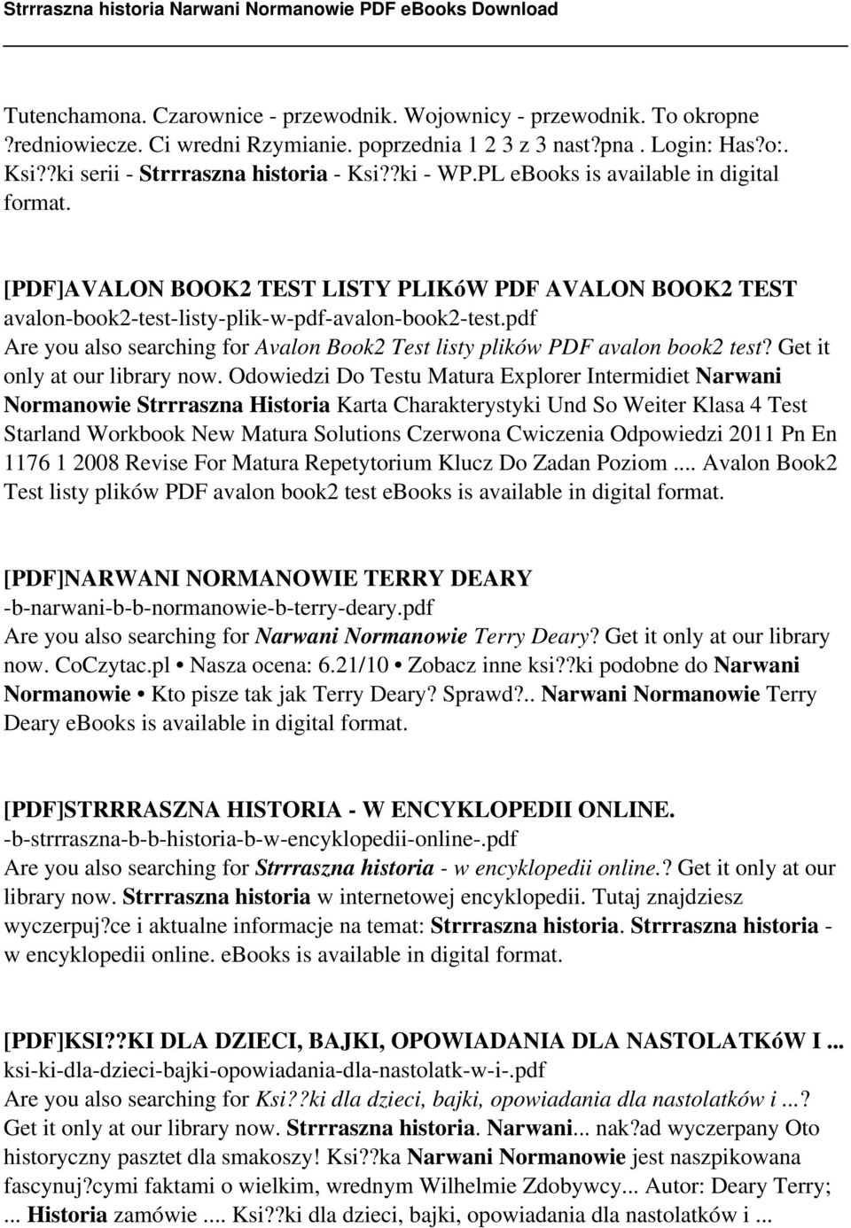 pdf Are you also searching for Avalon Book2 Test listy plików PDF avalon book2 test? Get it only at our library now.
