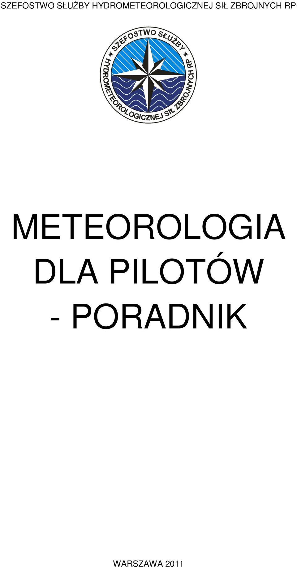 ZBROJNYCH RP METEOROLOGIA