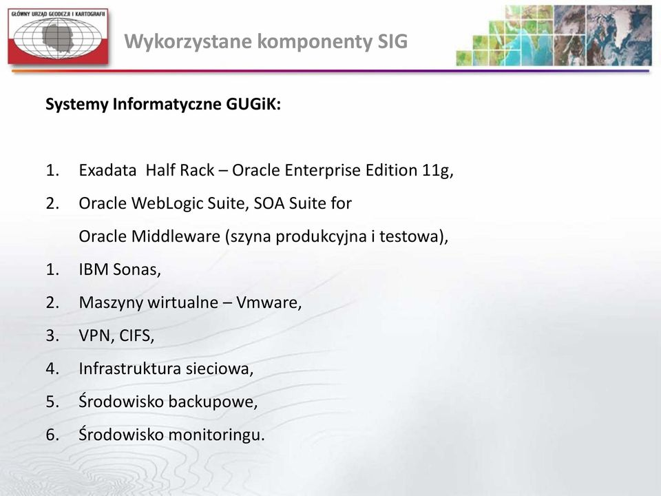 Oracle WebLogic Suite, SOA Suite for Oracle Middleware (szyna produkcyjna i