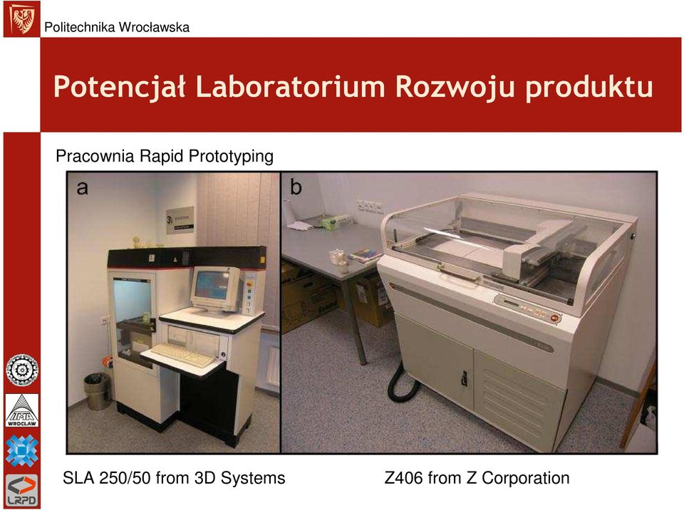 Rapid Prototyping SLA 250/50