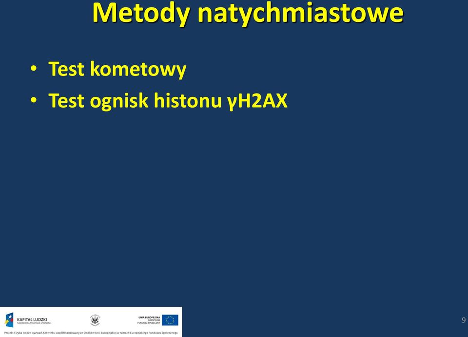 Test kometowy