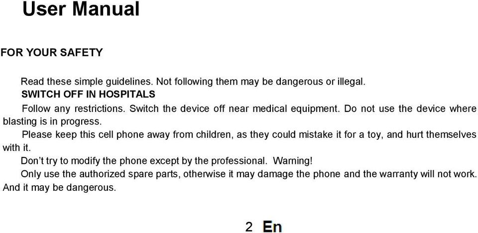 Do not use the device where blasting is in progress.